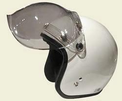 紫外線カット+開閉式 ダムトラックス ロッキンアップダウンデバブルシールド / DAMMTRAX LOCKIN UPDOWN DE BUBBLE SHIELD バイクヘルメット用