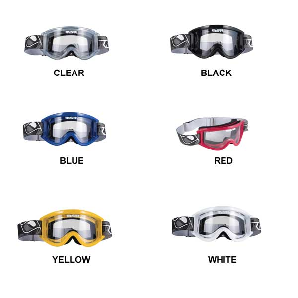 紫外線・赤外線を100%カット!快適な装着感☆MSRゴーグル / バイク&スポーツ用ゴーグル
