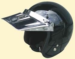 DUCK MEKKI VISOR ダックメッキバイザー ☆ ダムトラックス バイクヘルメット用バイザー