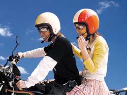 走行中に会話が楽しめる☆ タンデムコミュニケーター TNK CM-1 BIBI /バイク用通話機