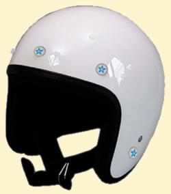 ヘルメットのシールドを付けるボタンに付ける新感覚アクセサリー!スタードットボタン/DAMMTRAX(ダムトラックス)バイク用アクセサリー