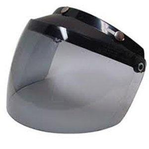 UVカット加工+開閉式☆ほとんどのジェットヘルメットに対応! ダムトラックス フリップアップシールド2 / DAMMTRAX FLIP UP SHIELD II バイク ヘルメット用シールド