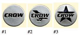ヘルメットのシールドを付けるボタンに付ける新感覚アクセサリー!CROWドットボタン/CROW(クロウ)バイク用アクセサリー