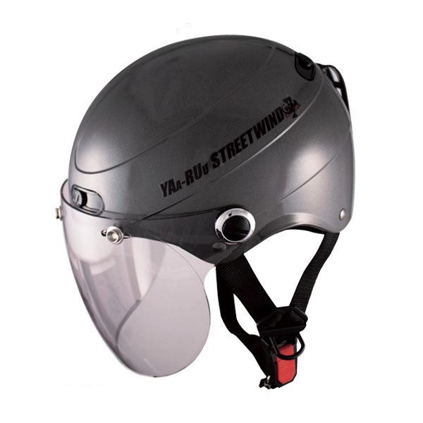 シールド付きハーフヘルメット STR JT ☆ SPEED PIT (スピードピット) / TNK バイク用 ヘルメット