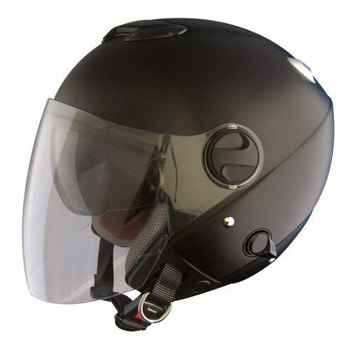 雨でも晴れでも無問題!ダブルシールド構造 ZJ-2 ZACK ジェット ヘルメット / TNK SPEEDPIT バイク用 ヘルメット
