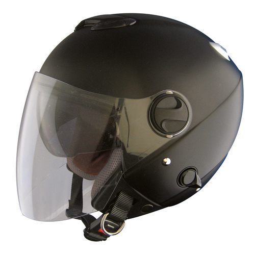 雨でも晴れでも無問題!ダブルシールド構造 ZJ-3 ZACK ビッグサイズ ジェットヘルメット / TNK SPEEDPIT バイク用 ヘルメット