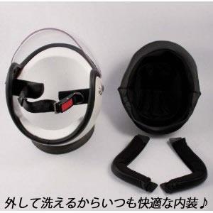 クリアシールド標準装備 TNK工業 SPEEDPIT JL-65SR バイカーズ SR スモールジェットヘルメット シングルカラー /スピードピット/バイク用/オートバイ/ヘルメット/ ジェット/洗える内装/UVカット