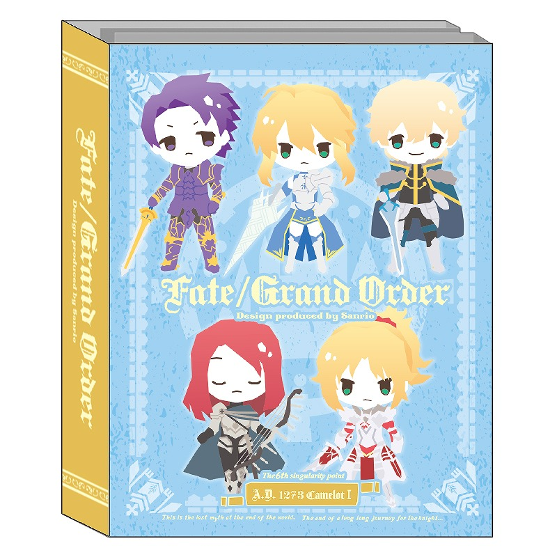 Fate/Grand Order Design produced by Sanrio パタパタメモ_キャメロットB