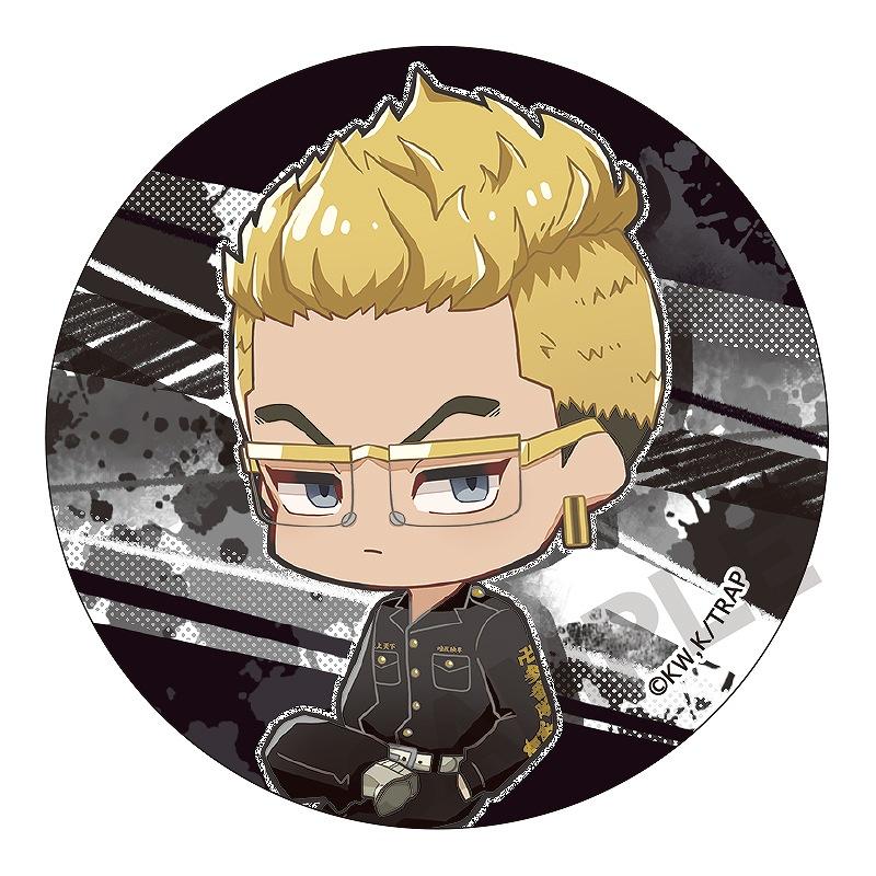 【予約商品7月上旬発送】東京リベンジャーズ トレーディング缶バッジ_ミニキャラ