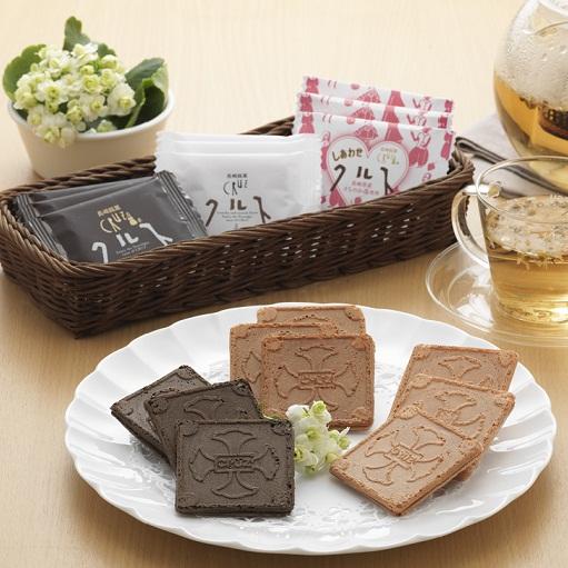 長崎銘菓クルス3種詰合せ 8枚入
