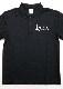 クルスオリジナルポロシャツ[black] S ※男女兼用