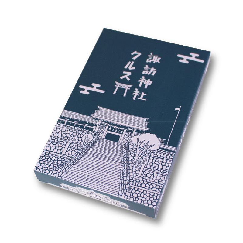 景観クルス 諏訪神社と長崎くんち 8箱詰合せ (クルス4枚入×8箱)