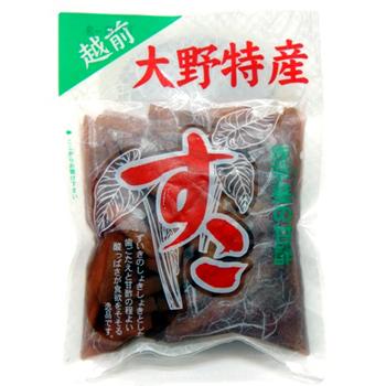 上田農園:添加物なし 身体に優しい甘酢漬け「大野特産 すこ 4袋セット」