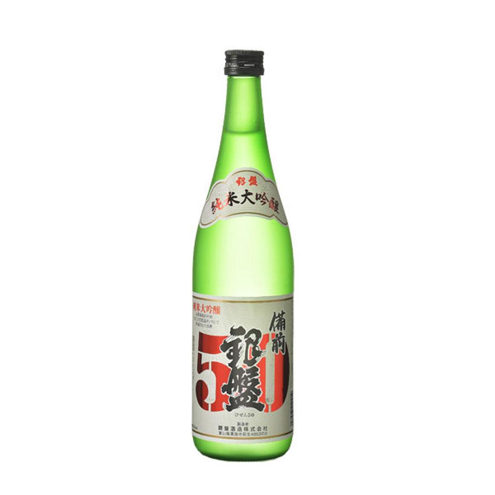 銀盤酒造:「純米大吟醸 備前50」香り控えめでコクがあり、味わいのあるお酒。