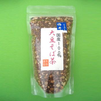 丸松茶舗「国産100% 大豆そば茶 180g」
