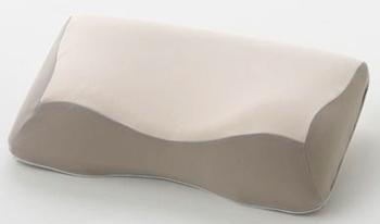 フランスベッド「ニューショルダーフィットピロー 低反発フォーム/ロータイプ」 高通気、吸水性の両立