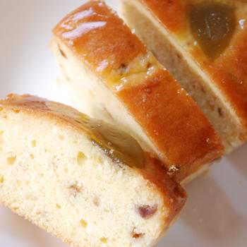 おおい夢工房「梅パウンドケーキ(大)」(箱なし) 梅の風味が香る