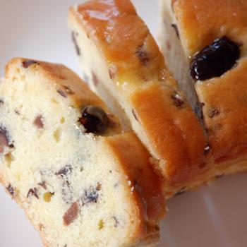 おおい夢工房「黒大豆パウンドケーキ(大)」 (箱なし) めずらしい黒大豆入りパウンドケーキ