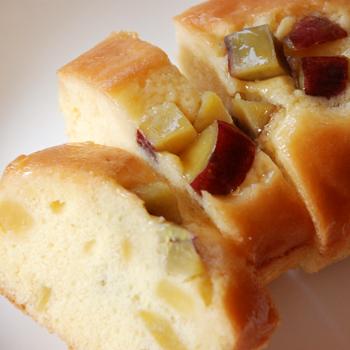 おおい夢工房「さつまいもパウンドケーキ(大)」 (箱なし)福井県産さつまいも使用
