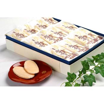 今屋:金沢銘菓 「柴舟(42枚入)箱入り」生姜と砂糖を煎餅に塗った上品な甘さ