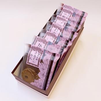 今屋:百通りのご縁「金沢百縁煎餅色々 7袋入り箱包装」食べきりサイズのお煎餅詰め合わせ