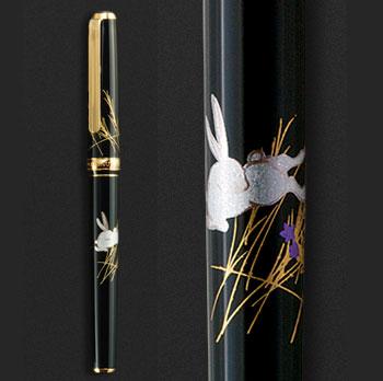 箔一:華麗な装飾美と究極の書き心地「金沢箔万年筆」