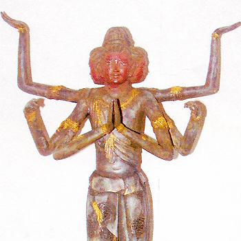 高岡銅器:織田幸銅器 阿修羅像 フィギュア