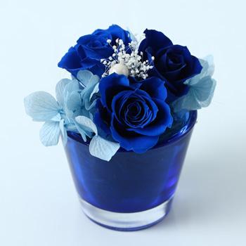 Pinky Rosey:枯れない魔法のお花に心をこめて「カラリスローズアレンジ オプション:A-077〜082」