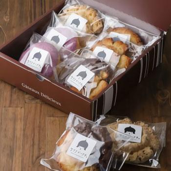 ウフフ:内祝いやギフトにぴったり!北陸の美味しさが詰まったドーナツセット「北陸堪能ドーナツ12個セット ギフトボックス」
