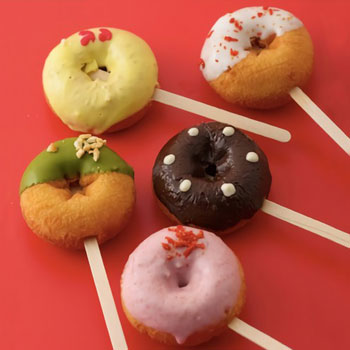 ウフフ:金沢のママたちの手作りドーナツです「ウフフドーナチュ ウィンタードーナツ15本パーティーセット(ご自宅用簡易包装)」