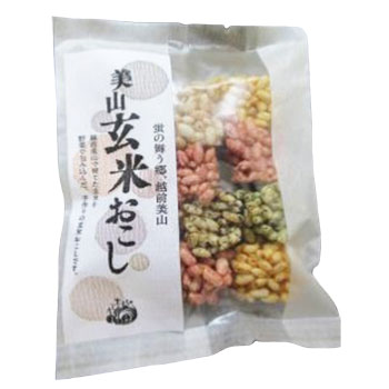 エッチ・ジェイ・ケイ:「玄米おこし×4袋」美山地区で育てた玄米と野菜で作ったおこし