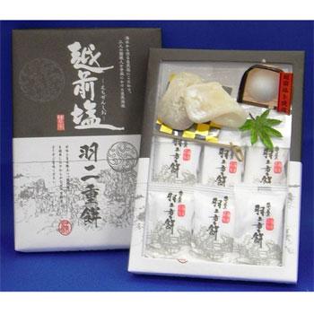 亀屋製菓「越前塩羽二重餅/しょうゆ羽二重餅(3箱セット)」