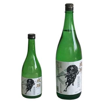 成政酒造:「成政 佐々成政(黒)雄山錦 純米酒(720ml/1.8L)」南砺市産雄山錦を使用