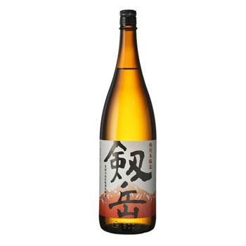 銀盤酒造:「特別本醸造 剱岳」味の調和のとれた、すっきりした味わい。