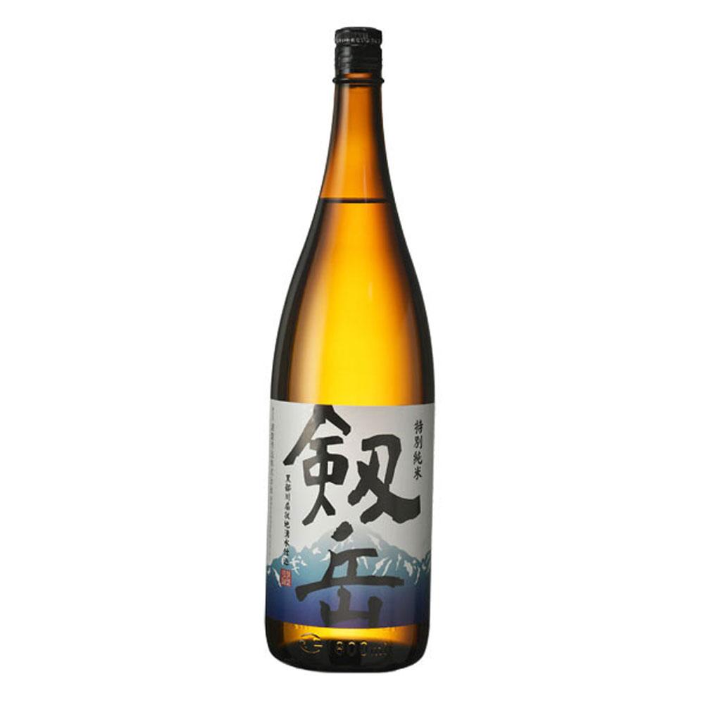銀盤酒造:「特別純米 剱岳」やわらかな香りで、うま味を感じる清酒。