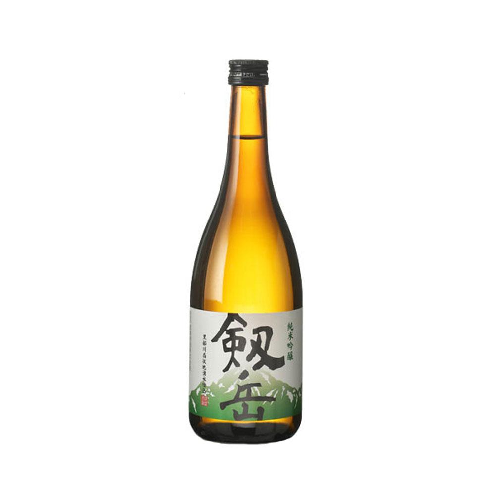 銀盤酒造:「純米吟醸 剱岳」おだやかで軽やかな心地よい味わいの清酒。