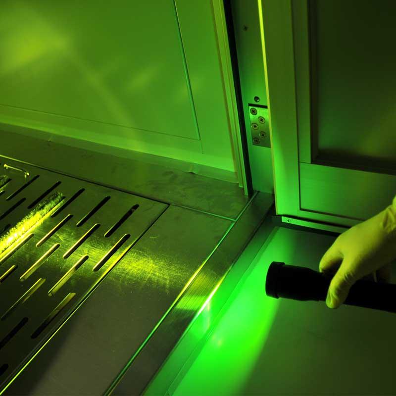 小型LEDライト クリーンルームライトミニ CSPV-1000