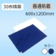 CCTクリーンマット 600x1200mm 白/青