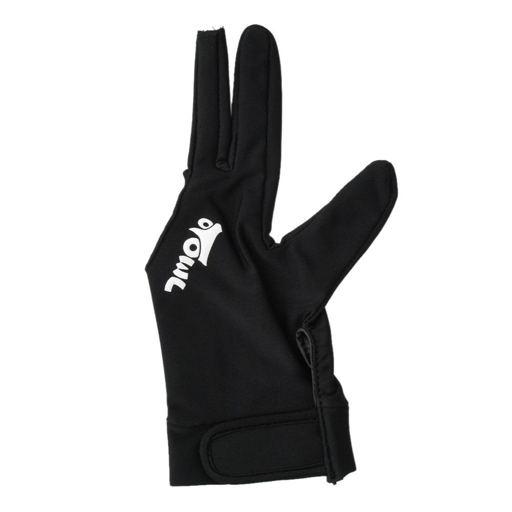 【メール便可】OWL3 グローブ ブラックxブラック 左手着用/右利き用(Left Hand)  Sサイズ