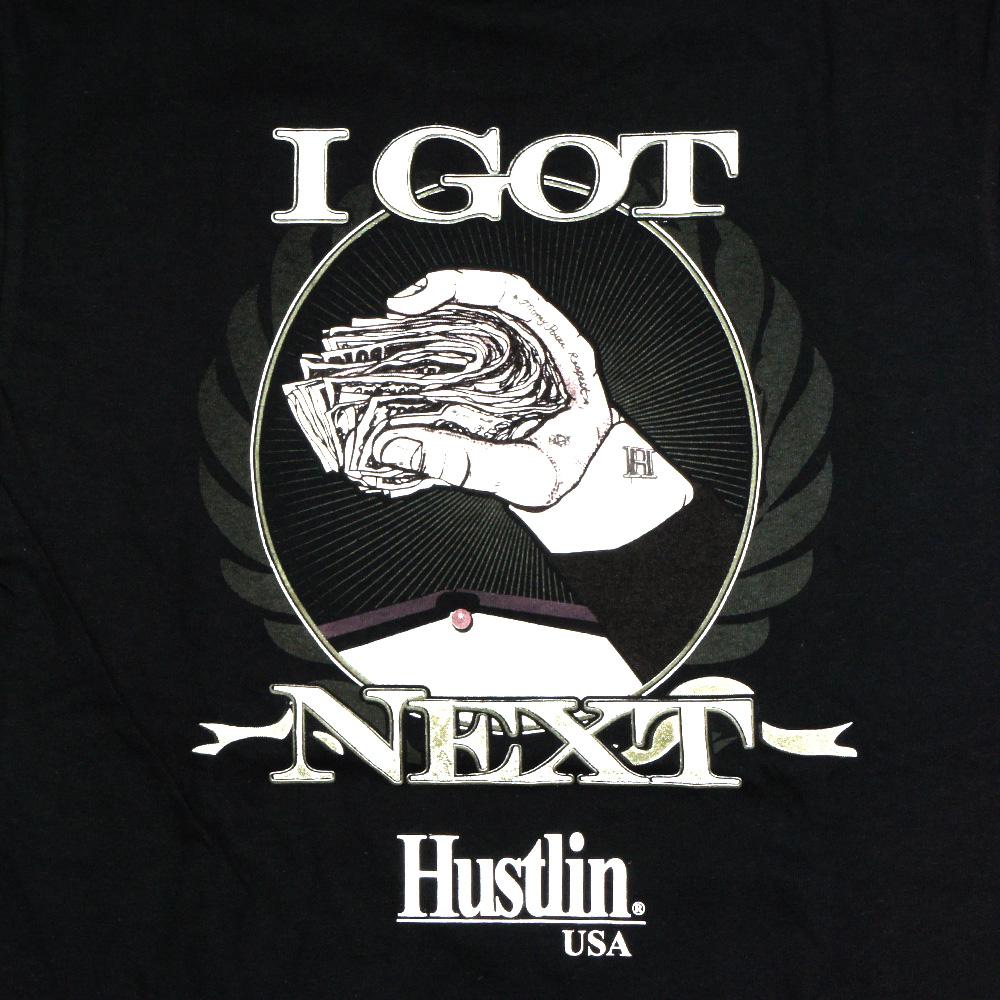 HUSTLIN ハスリン IGB01 Tシャツ/ブラック