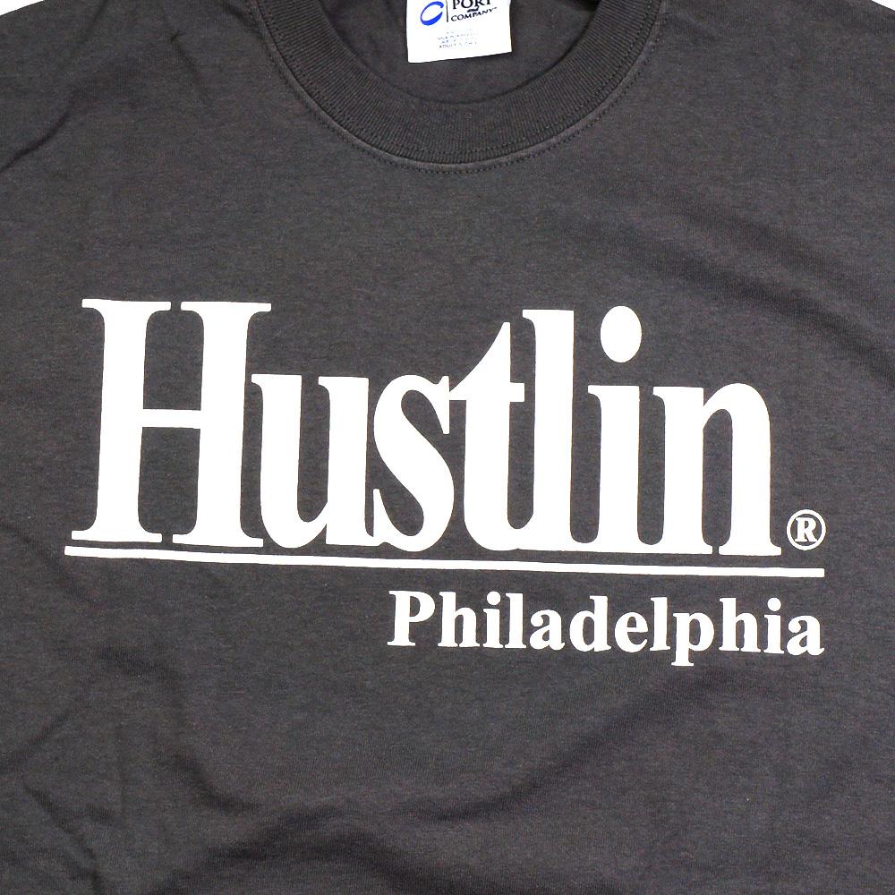 HUSTLIN ハスリン PSG01 Tシャツ/グレー