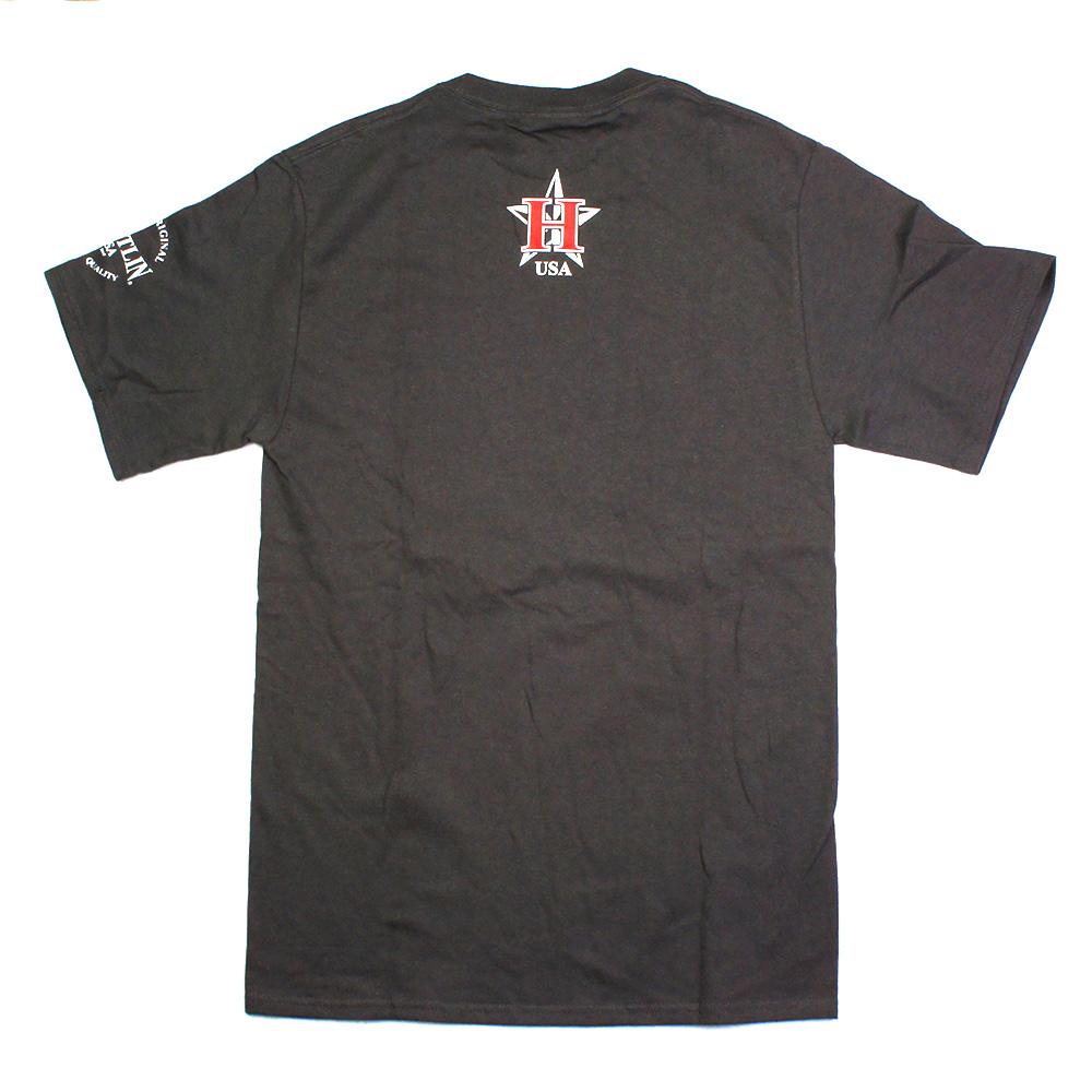 HUSTLIN ハスリン  PGA01 Tシャツ/グレー