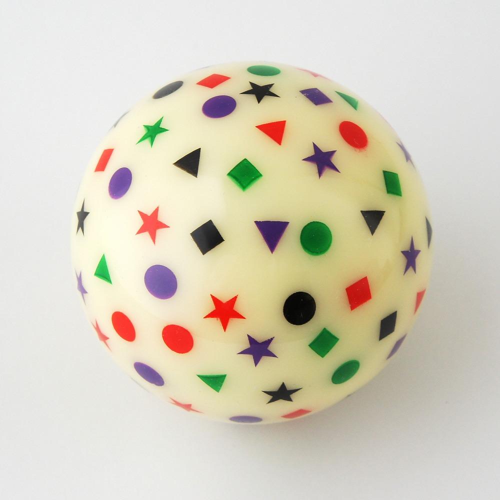カットショット トレーニングボール 8個セット(白1黄7)