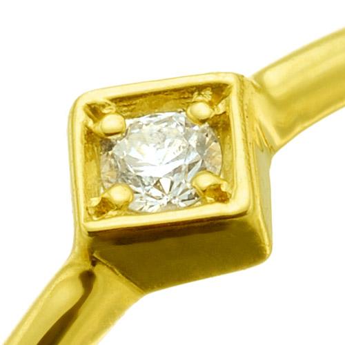 K18ダイヤモンドリング twinkle
