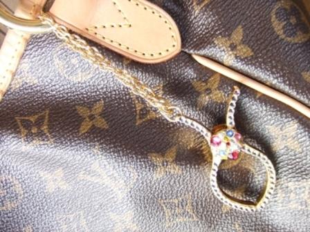 キラデコ 手袋ホルダー ゴールド