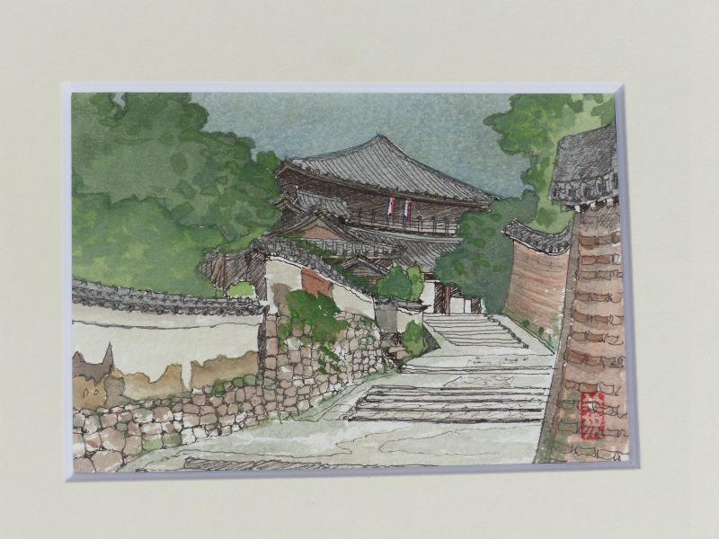 東大寺二月堂付近(奈良)