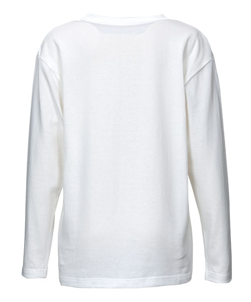 和紙綿ロングTシャツ(レディース)