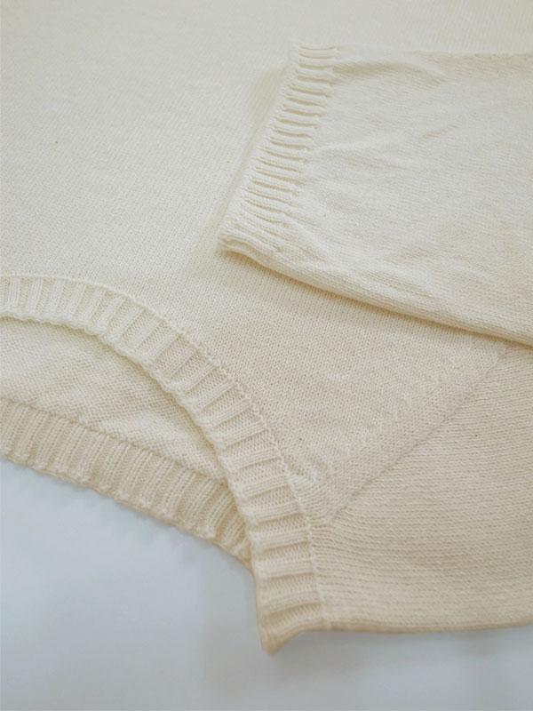 無縫製メンズパジャマ(七分袖)