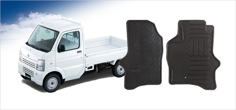 ゴムマット ハイゼットトラック(S500/510P)/ピクシストラック(S500/510U)/サンバートラック(S500/510J)