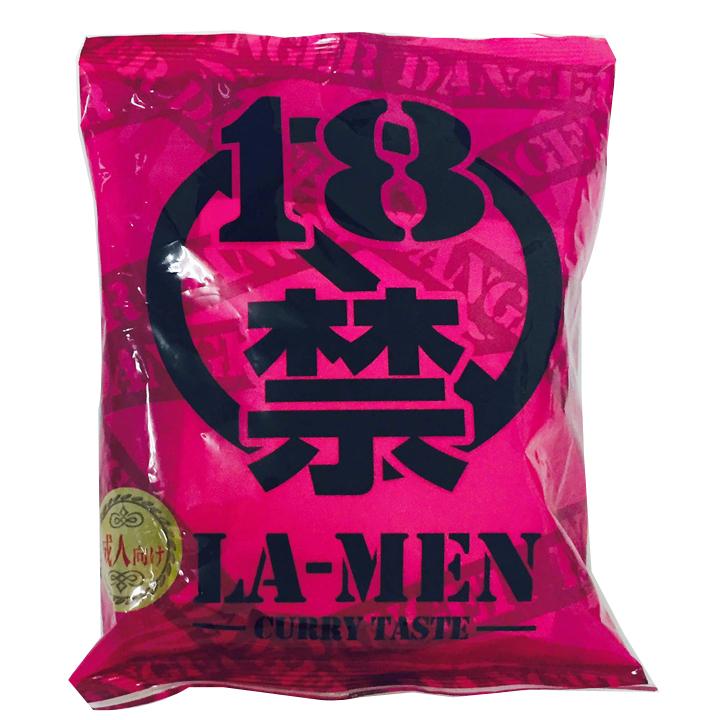 18禁ラーメン痛辛 カレー味の激辛ラーメン30個セット送料込